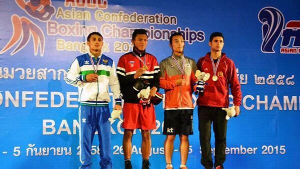 Oʻzbekiston bokschilari Osiyo chempionatida - Sputnik Oʻzbekiston