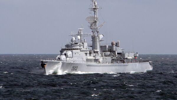 Международные военно-морские учения Фрукус-2012 - Sputnik Ўзбекистон