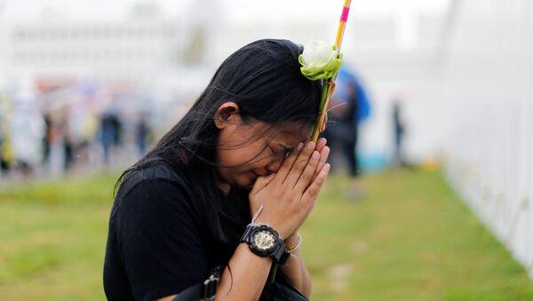 Женщина плачет - Sputnik Узбекистан