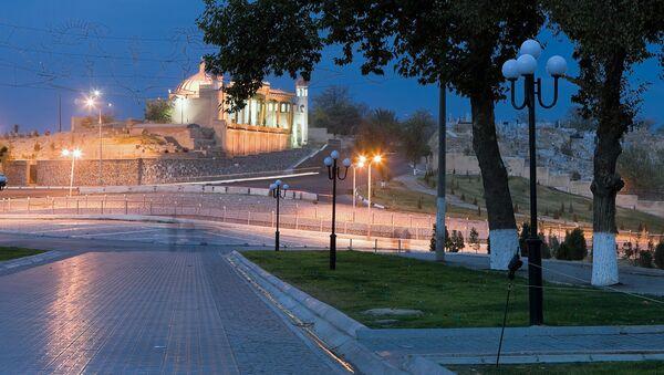 Вид города Самарканда - Sputnik Ўзбекистон