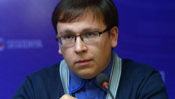 Grigoriy Lukyanov ekspert VSHE - Sputnik Oʻzbekiston