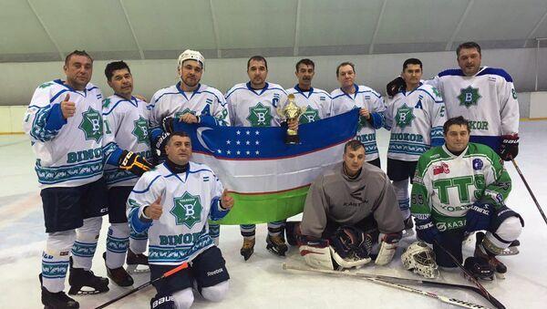 Столичный хоккейный клуб Бинокор - Sputnik Ўзбекистон