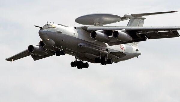 Cамолёт А-50 дальнего радиолокационного обнаружения и управления - Sputnik Ўзбекистон