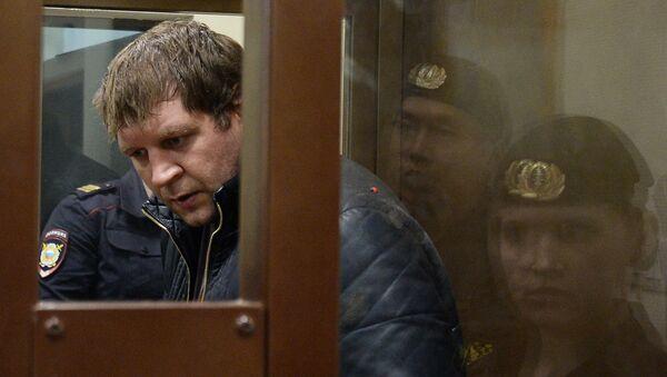 Рассмотрение вопроса об аресте А. Емельяненко в Симоновском суде Москвы - Sputnik Узбекистан