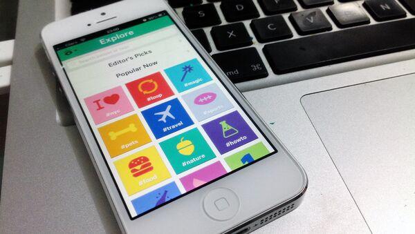 Мобильное приложение Vine - Sputnik Ўзбекистон