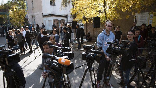 Журналисты - Sputnik Узбекистан