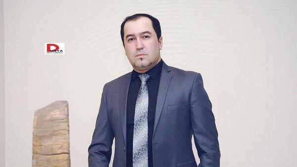 Таджикский дизайнер Умед Кучкалиев - Sputnik Узбекистан