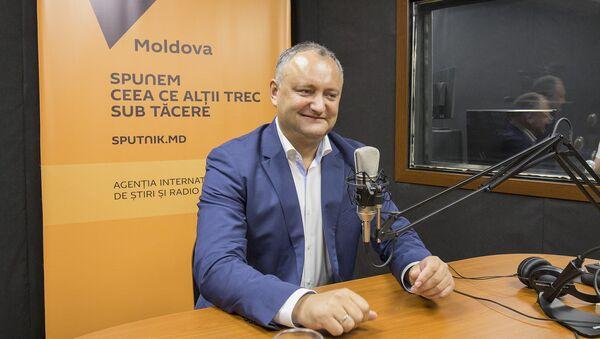 Molodva prezidenti nomzodi Igor Dodon - Sputnik Oʻzbekiston