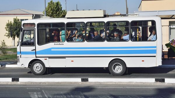 Автобус в Самарканде - Sputnik Ўзбекистон