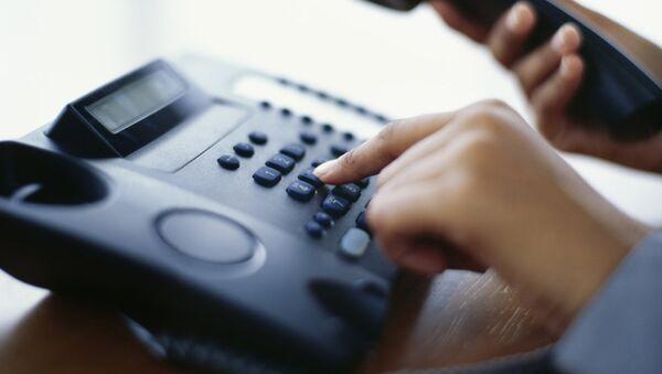 телефон звонок горячая линия служба диспетчер - Sputnik Ўзбекистон