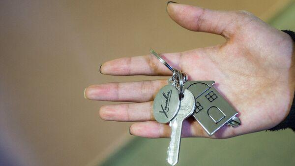 Ключи от новой квартиры - Sputnik Ўзбекистон