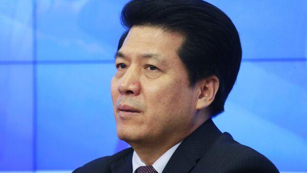 П/к чрезвычайного и полномочного посла Китайской Народной Республики в РФ Ли Хуэя - Sputnik Узбекистан