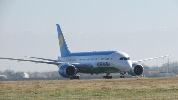 Boeing 787-8 Dreamliner - Sputnik Oʻzbekiston