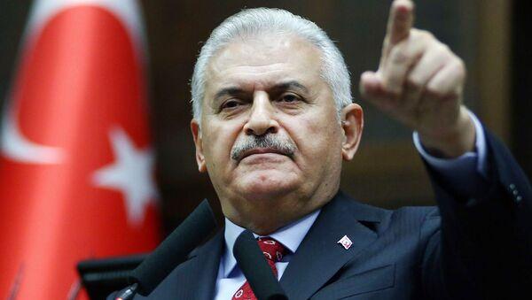 Turkiya Bosh vaziri Binali Yildirim - Sputnik Oʻzbekiston