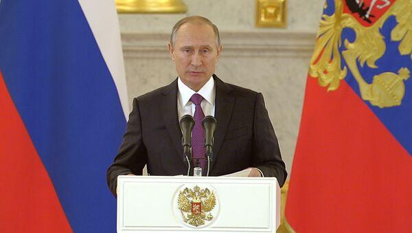 Vladimir Putin, Rossiya prezidenti - Sputnik Oʻzbekiston