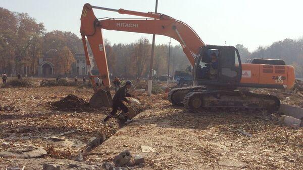 Снос деревянных бараков в Сергелийском районе Ташкента - Sputnik Ўзбекистон