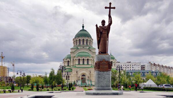 Астрахань. Собор Святого Владимира - Sputnik Ўзбекистон