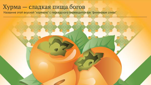 Хурма — сладкая пища богов - Sputnik Узбекистан