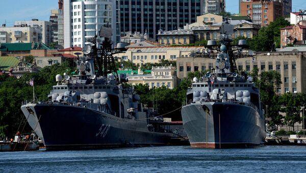 Корабли Тихоокеанского флота - Sputnik Узбекистан