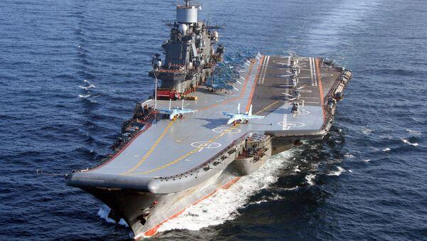 Авианосец Адмирал Кузнецов - Sputnik Ўзбекистон