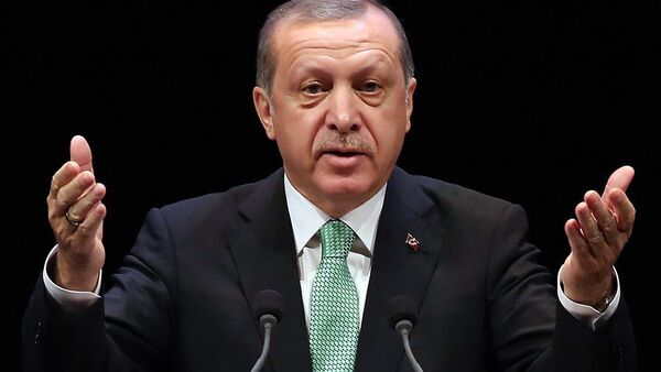 Президент Турции Реджеп Тайип Эрдоган - Sputnik Ўзбекистон