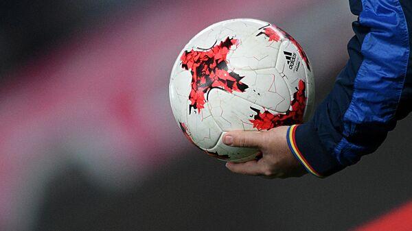 Мяч Krasava на разминке - Sputnik Узбекистан