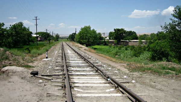 Железная дорога в Таджикистане - Sputnik Ўзбекистон