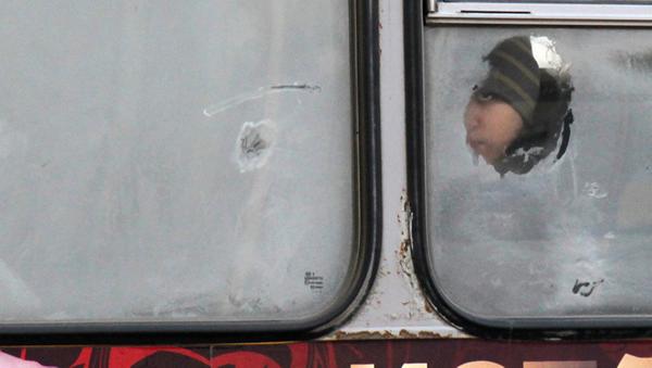 Sovuq, avtobus - Sputnik Oʻzbekiston