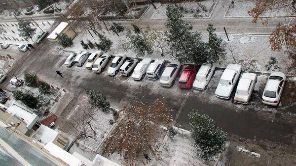 Sneg v Uzbekistane - Sputnik Oʻzbekiston