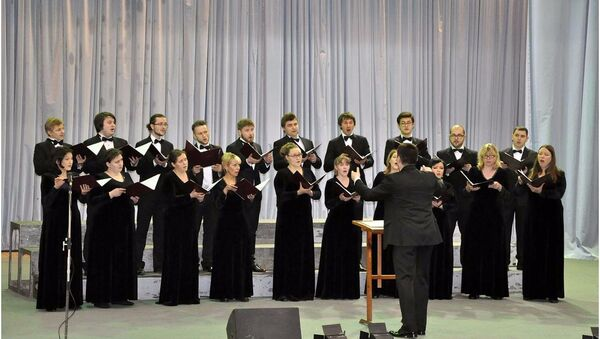 Концерт Синодального хора Москвы в Ташкенте - Sputnik Узбекистан
