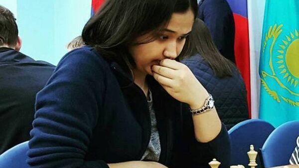 Шахматистка Гульрухбегим Тохиржонова - Sputnik Узбекистан
