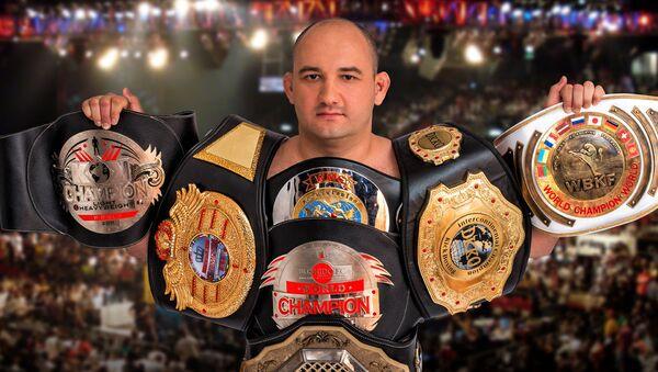 Многократный чемпион мира по кикбоксингу Муса Мусалаев - Sputnik Узбекистан