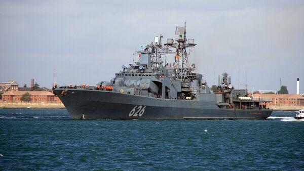 Российский корабль Вице-адмирал Кулаков - Sputnik Узбекистан