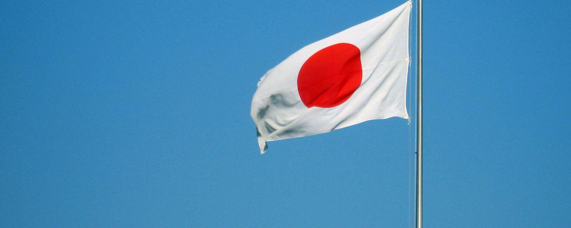 Флаг Японии - Sputnik Ўзбекистон, 1920, 12.05.2021