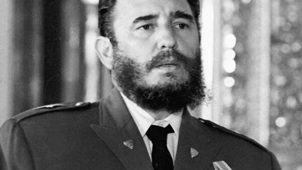 Кастро - Sputnik Ўзбекистон
