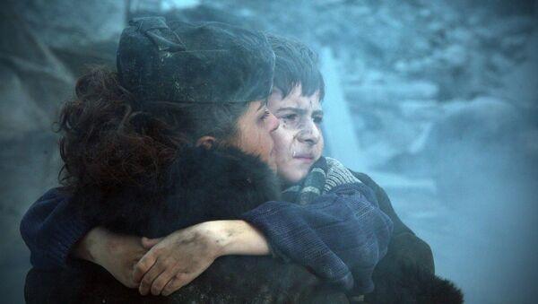 Кадр из фильма Землетрясение - Sputnik Узбекистан