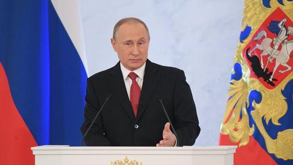 Yejegodnoye poslaniye prezidenta RF V. Putina Federalnomu Sobraniyu - Sputnik Oʻzbekiston