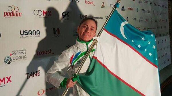 Oksana Chusovitina Meksikadagi turnirda - Sputnik Oʻzbekiston