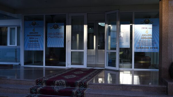 Saylov uchastkasi - Sputnik Oʻzbekiston