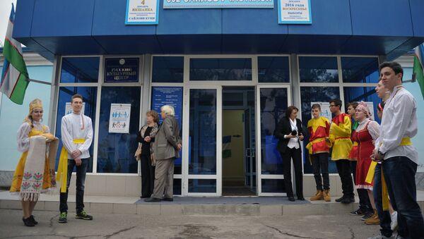 Избирательный участок № 352 в здании Русского культурного центра в Ташкенте - Sputnik Узбекистан