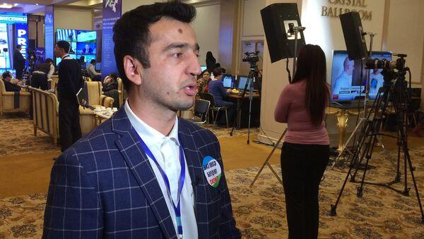 Jahongir Poziljonov - Sputnik Oʻzbekiston