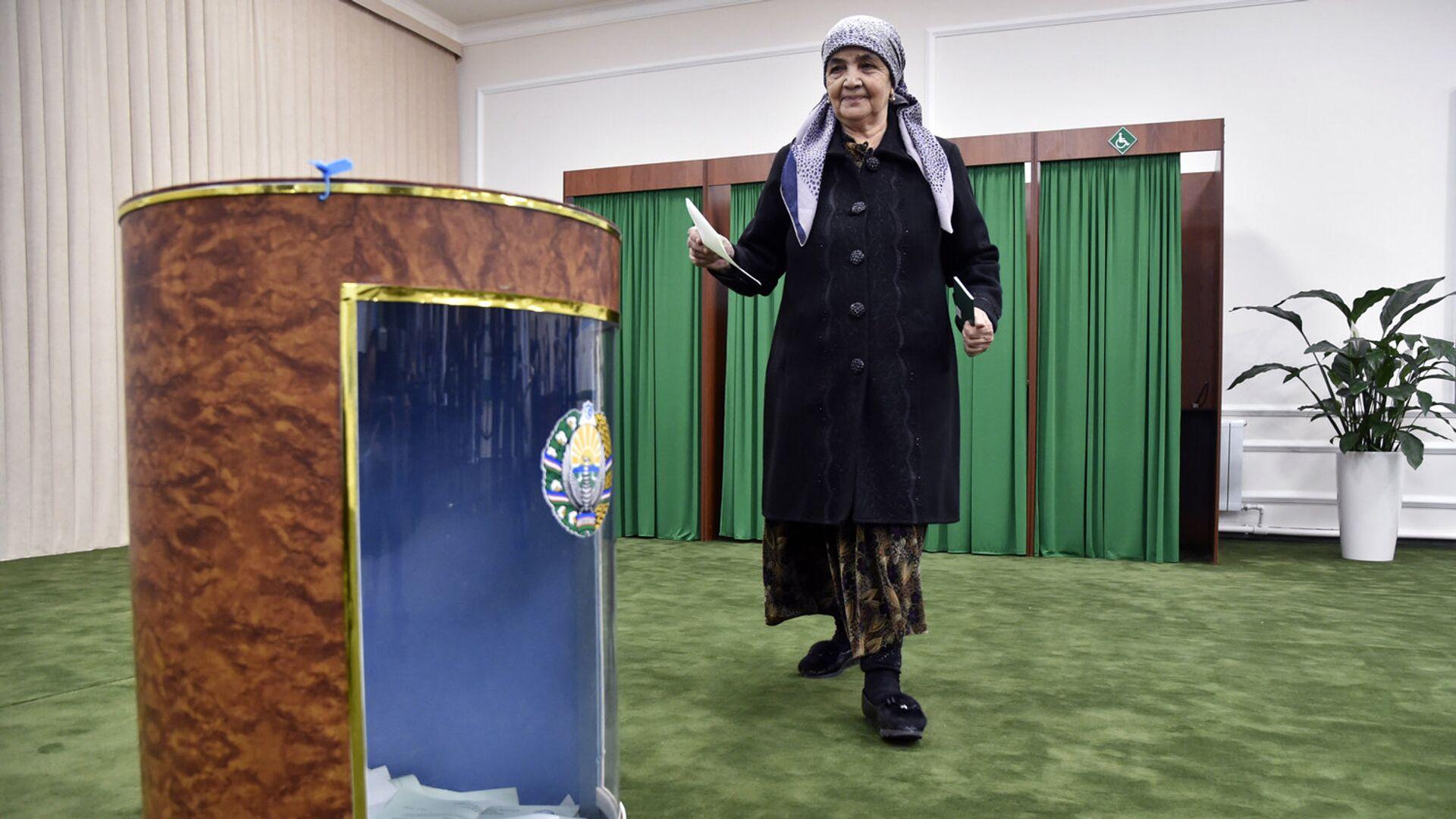 Президентские выборы в Узбекистане - Sputnik Узбекистан, 1920, 29.09.2021
