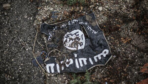 Флаг радикальной исламистской организации ИГИЛ - Sputnik Ўзбекистон