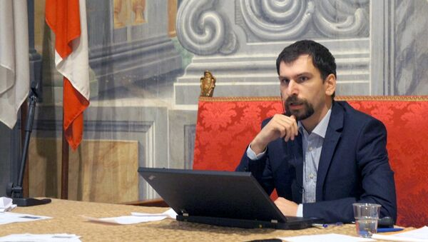 Дмитрий Александров - Sputnik Узбекистан