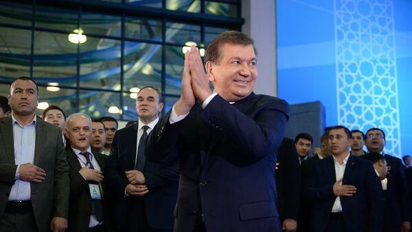 Oʻzbekiston yangi saylangan prezidenti Shavkat Mirziyoyev - Sputnik Oʻzbekiston