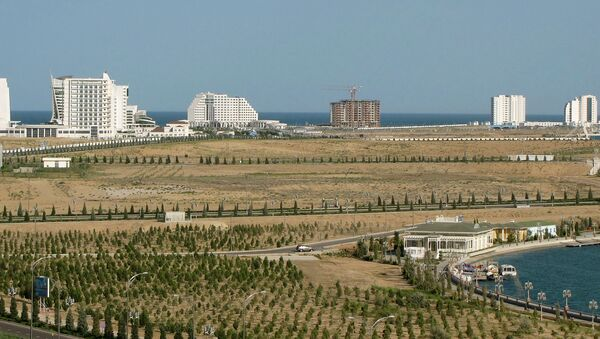 Курорт Аваза в Туркменистане, архивное фото - Sputnik Узбекистан