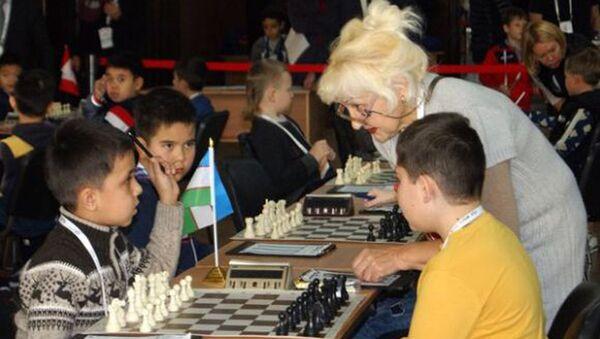 Турнир по шахматам - Sputnik Узбекистан