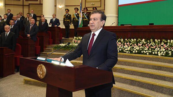 Oʻzbekiston Respublikasi Prezidenti Shavkat Mirziyoyev - Sputnik Oʻzbekiston