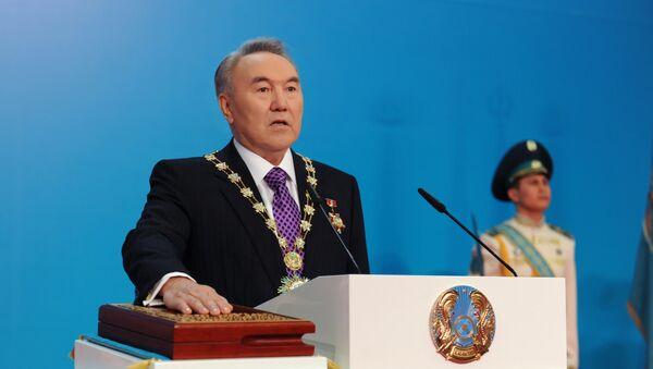 Qozogʻiston prezidenti qasamyod qilmoqda - Sputnik Oʻzbekiston