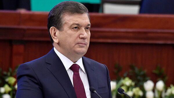 Oʻzbekiston prezidenti Shavkat Mirziyoyev - Sputnik Oʻzbekiston